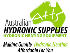 Australian Hydronics Supplies Mobile Logo